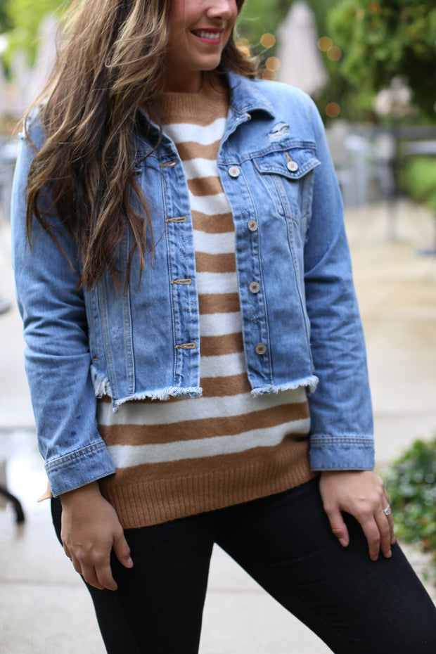 ZOEY DENIM JACKET