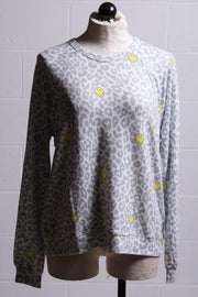 PJ Salvage Smiley Long Sleeve Top RUSMLS