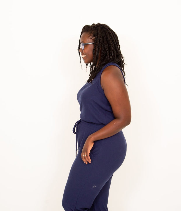Moonlight Jumpsuit in Navy