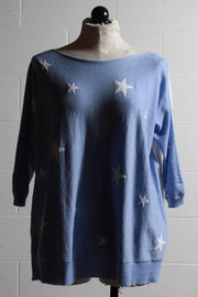 Zaket and Plover Intarsia Star Sweater