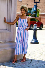 Stripe Jumpsuit - SALE