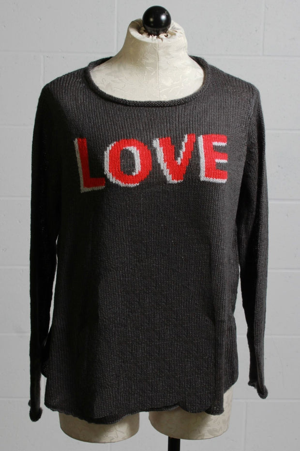 Wooden Ships 3D Love Sweater