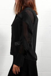 Soaked In Luxury Gianna Shirt Black 30403137