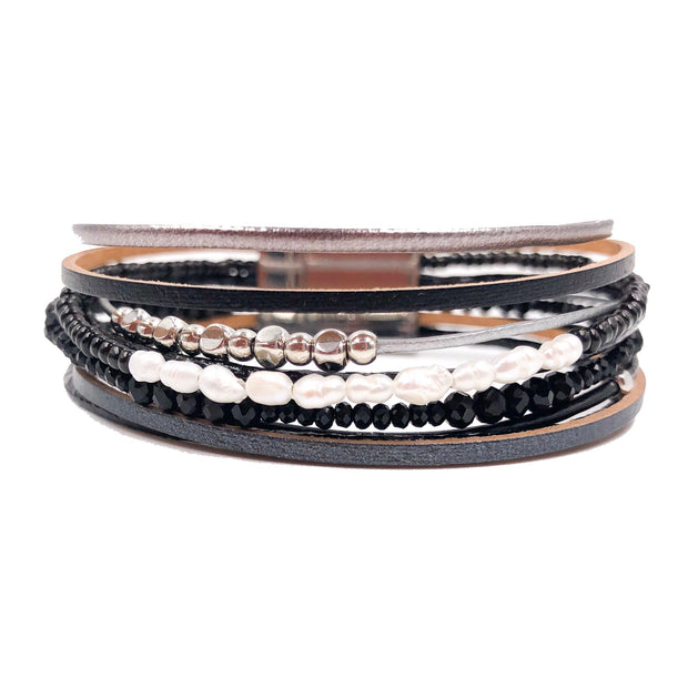 Mix Mercantile Designs - Alexis Bracelet - Black
