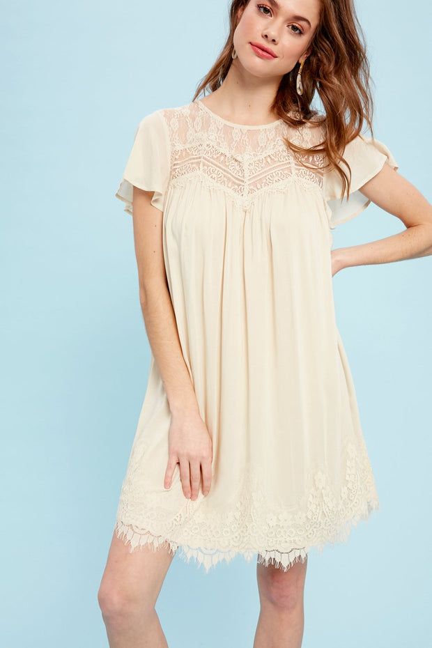 Stand Out Lace Sweetheart Dress