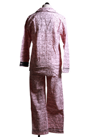 PJ Salvage Flannel PJ Set Blush RUFLPJ