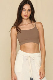 Got You Covered New Mocha Half-Cami Bralette