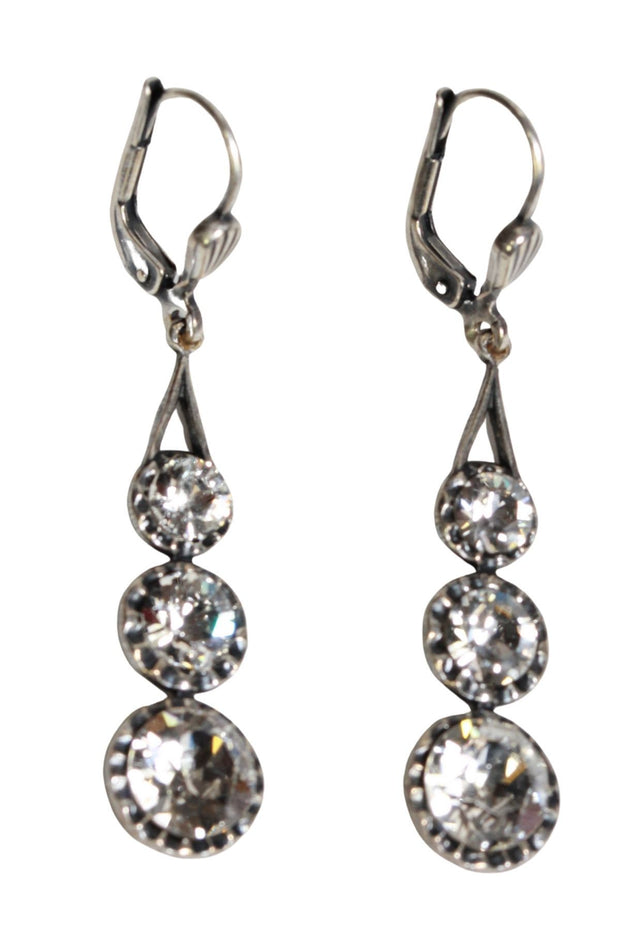 La Vie Parisienne Triple Drop Earring