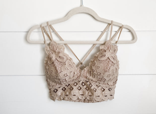 HAVE TO HAVE IT BRALETTE (TAUPE)