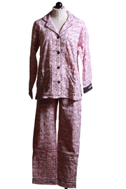 Flannel PJ Set Blush-PJ Salvage