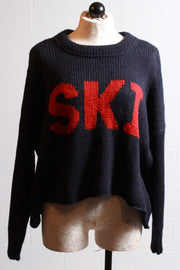 Wooden Ships Ski Slouchy Pullover Night Bonfire K43Y2W247