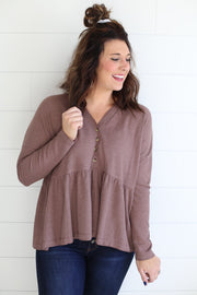 BABYDOLL THERMAL (MOCHA)