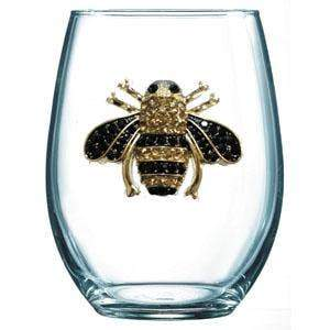 Cork Pops Inc - Bee Stemless Cup