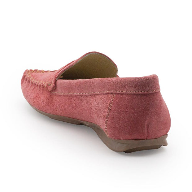 Charleston Shoes Suede Loafer Coral Murray