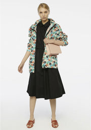 Compania Fantastica Drawstring Waist Shirtdress