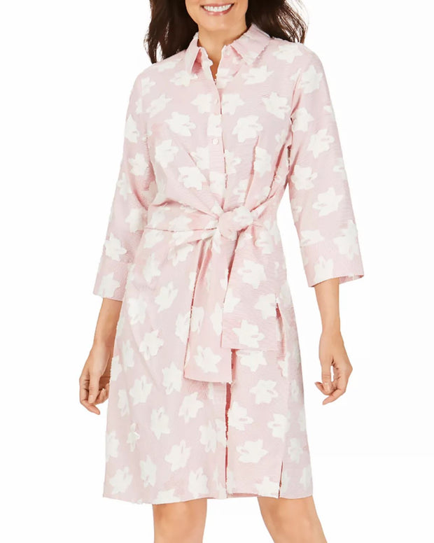 Foxcroft Parisian Clip Dress Desert Rose