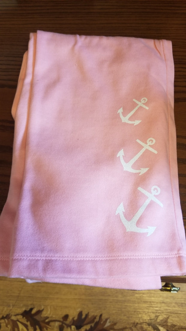 Youth Pink Anchor Pant