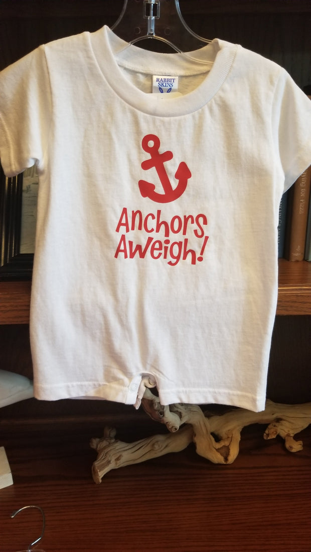Infant Anchors Aweigh Short Outfit