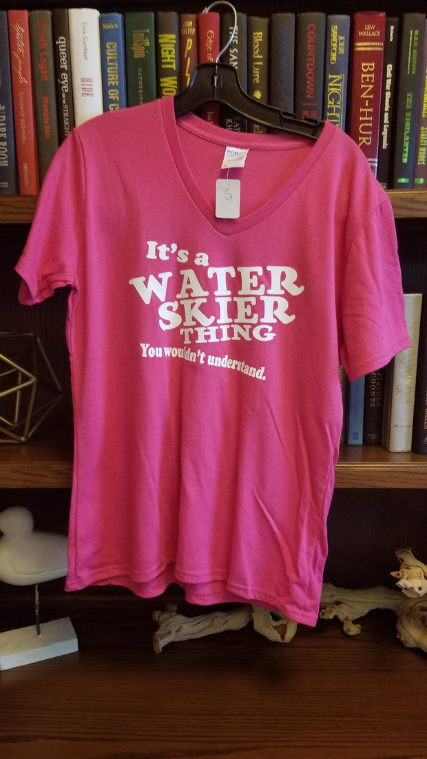 Adult Its A Water Skier Thing Tee