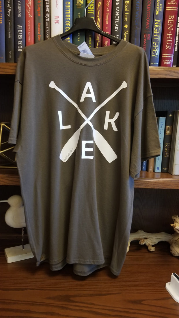 Adult Cross Oar Lake Wawasee Tee