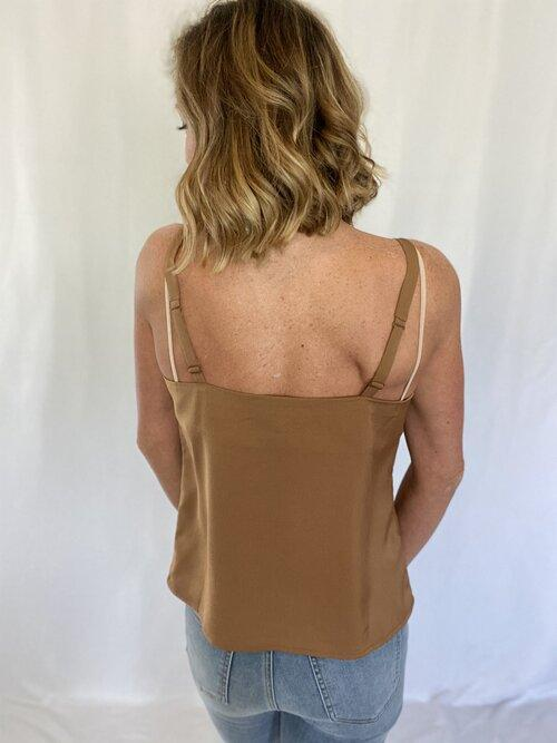 Caramel Cravings Sleeveless Top