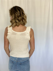 Natural Beauty Woven Tank