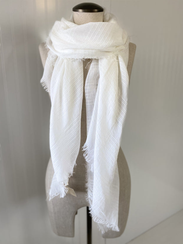 Ivory Spring Scarf