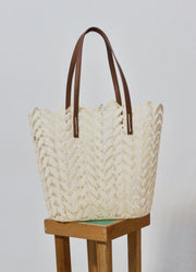 Holbox Ivory Tote