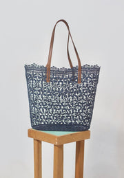 Holbox Navy Tote