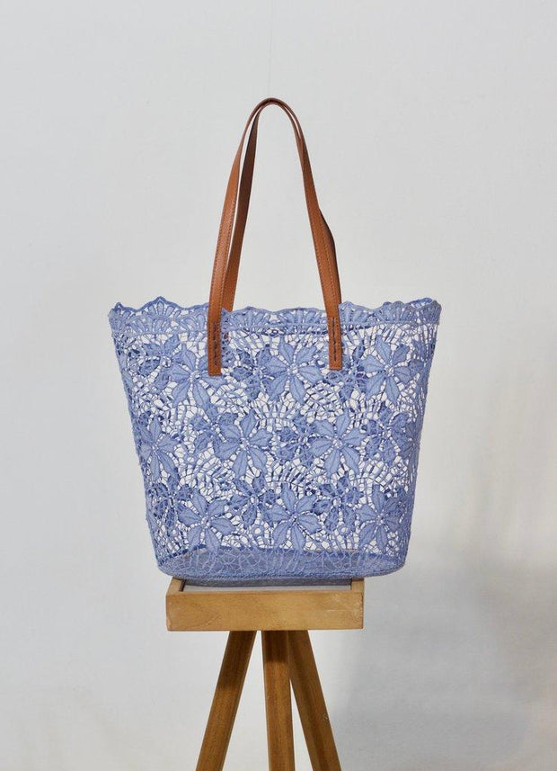 Holbox Periwinkle Tote