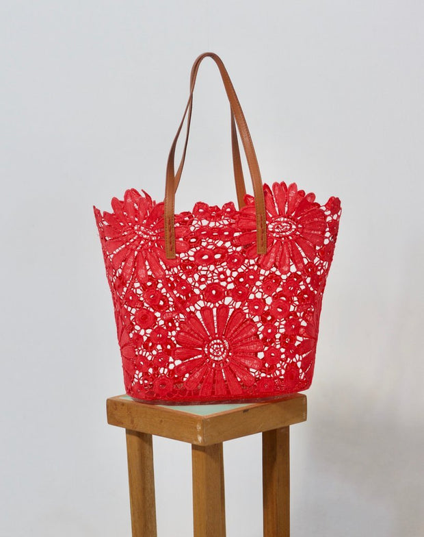 Holbox Coral Tote