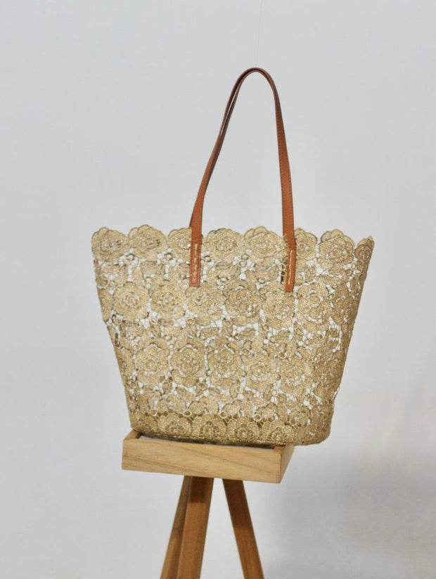 Holbox Gold Tote