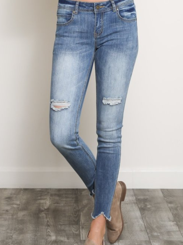 Skinny Crop Jeans-Final Sale