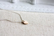 Bronze Petal Necklace