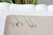 Linked To You Circle Necklace