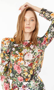 Generation Love Puff Sleeve Blouse Floral Jada