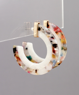 Stella Multi-Colored Hoops