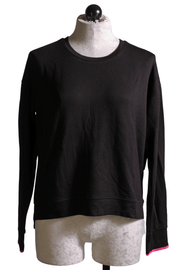 Black Long Sleeve Top-PJ Salvage