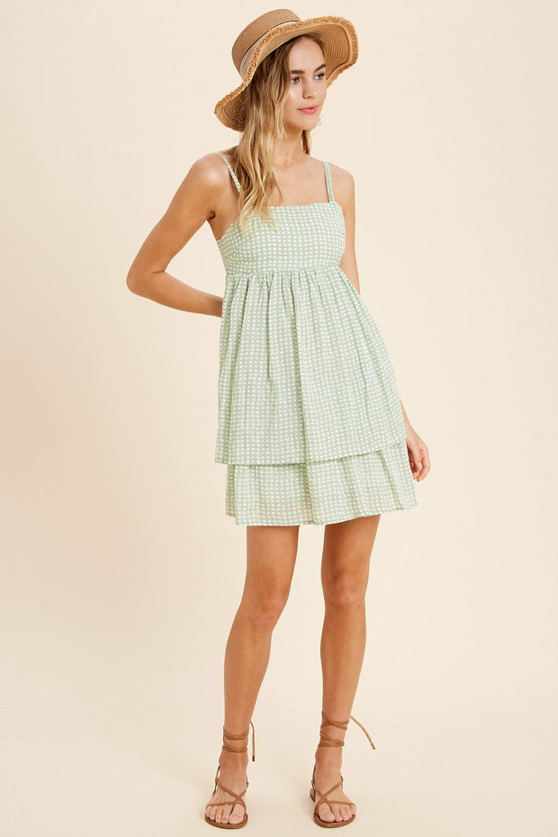 Dinner with Friends Ribbon Dress