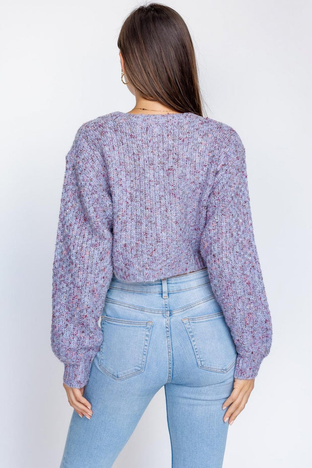 Another Place Cropped Cardigan