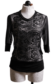 Beate Heymann Sheer Lasercut Top