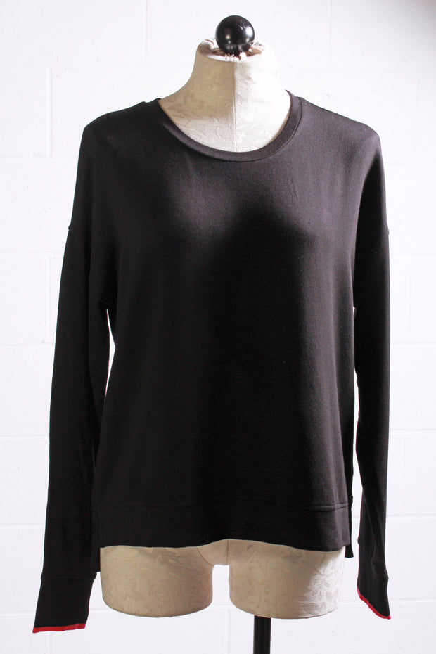 PJ Salvage Black Long Sleeve Top