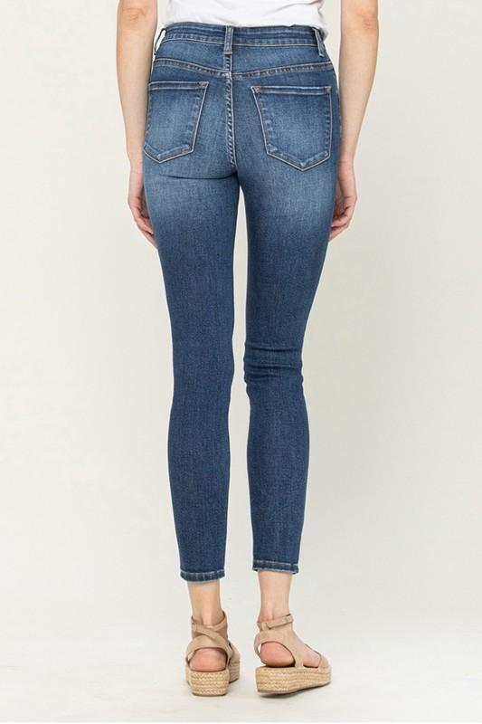 Flying Monkey High Rise Skinny Jeans