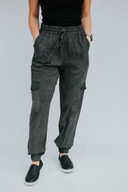 Grey washed Pocket Joggers