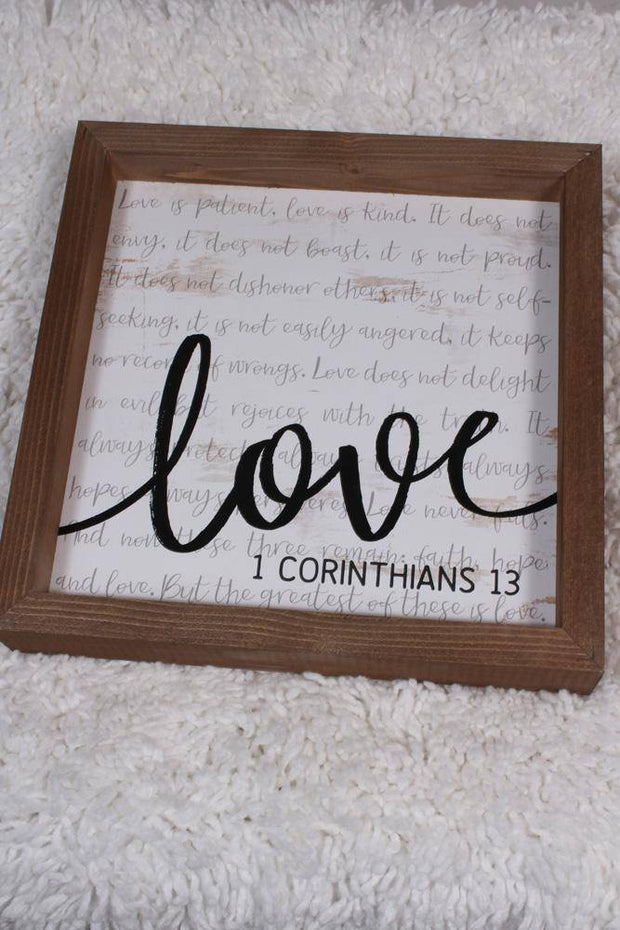 P Graham Dunn Love Bible Verse Print VFR0040