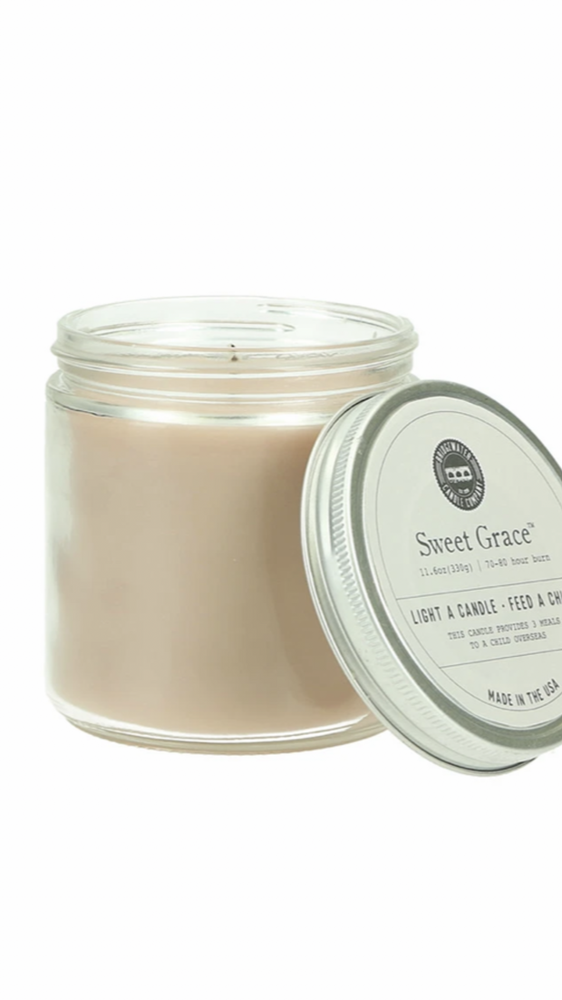 Sweet Grace Statement Jar Candle