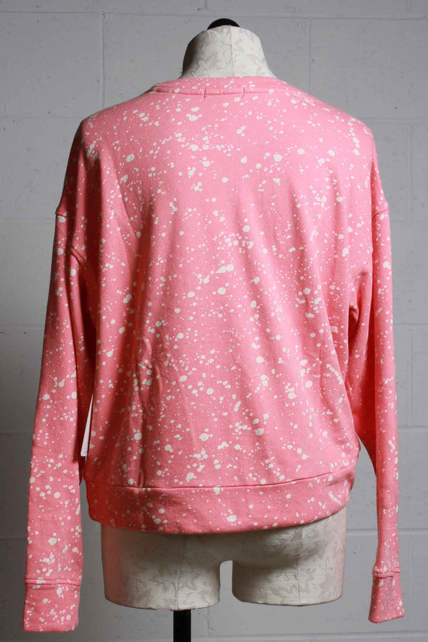 Flick of a Brush Long Sleeve Top -PJ Salvage