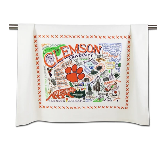 Clemson University Collegiate Dish Towel