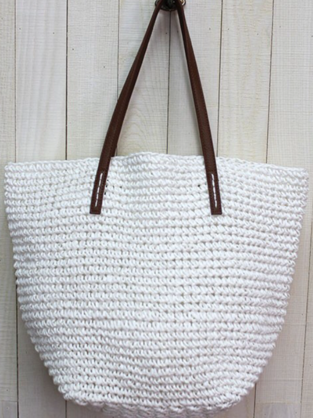 Raffia Beach Bag (more colors available)