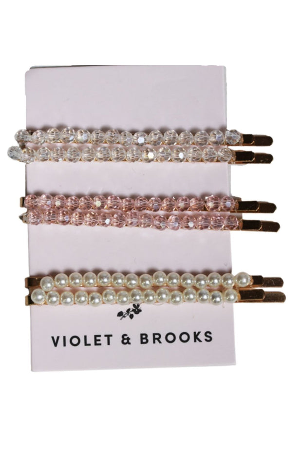Violet and Brooks Brie Glass Bead Bobbie Set